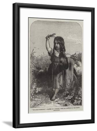 The Little Scarecrow, from the Exhibition of the British Institution-Thomas-Francis Dicksee-Framed Giclee Print
