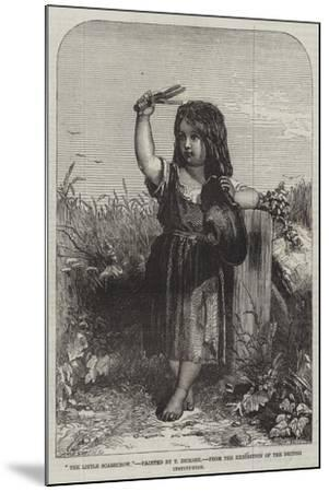 The Little Scarecrow, from the Exhibition of the British Institution-Thomas-Francis Dicksee-Mounted Giclee Print