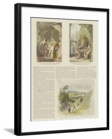 The Complete Angler-Thomas Stothard-Framed Giclee Print