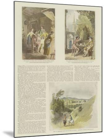 The Complete Angler-Thomas Stothard-Mounted Giclee Print
