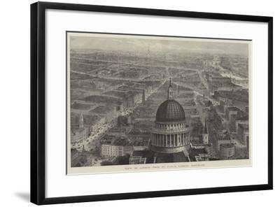 View of London from St Paul's, Looking Eastward-Thomas Sulman-Framed Giclee Print