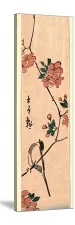 Kaido Ni Shokin-Utagawa Hiroshige-Stretched Canvas Print
