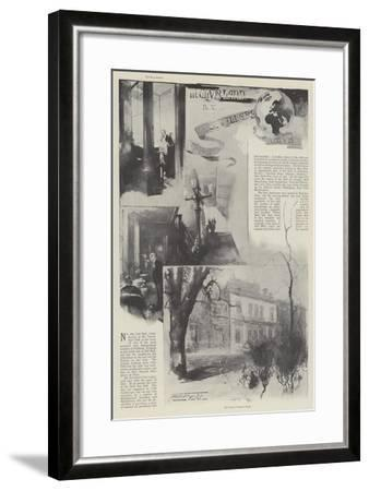The Travellers' Club-Thomas Walter Wilson-Framed Giclee Print