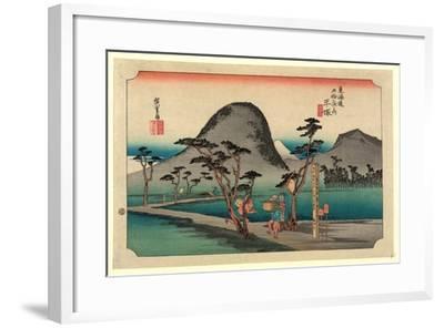 Hiratsuka-Utagawa Hiroshige-Framed Giclee Print