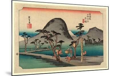 Hiratsuka-Utagawa Hiroshige-Mounted Giclee Print