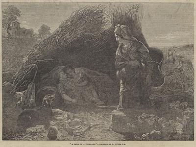 A Cabin in a Vineyard-Thomas Uwins-Framed Giclee Print