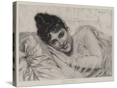 Dolce Far Niente-Tito Conti-Stretched Canvas Print