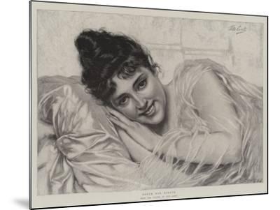 Dolce Far Niente-Tito Conti-Mounted Giclee Print