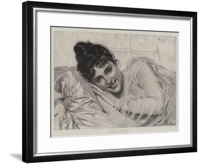 Dolce Far Niente-Tito Conti-Framed Giclee Print