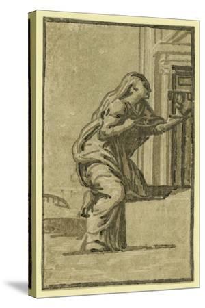 Faith, Between 1500 and 1610-Ugo da Carpi-Stretched Canvas Print