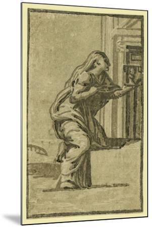 Faith, Between 1500 and 1610-Ugo da Carpi-Mounted Giclee Print