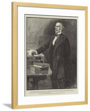 Mr Gladstone Moving the Second Reading of the Religious Disabilities Bill-Thomas Walter Wilson-Framed Giclee Print