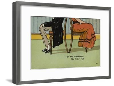 On the Honeymoon, the First Tiff-Tom Browne-Framed Giclee Print