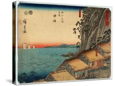 Yui-Utagawa Hiroshige-Stretched Canvas Print