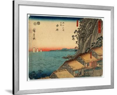 Yui-Utagawa Hiroshige-Framed Giclee Print