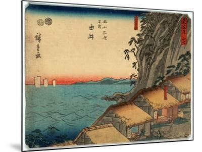Yui-Utagawa Hiroshige-Mounted Giclee Print