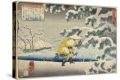 Moso, 1844-1846-Utagawa Kuniyoshi-Stretched Canvas Print