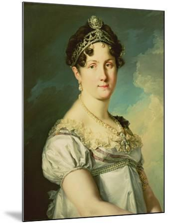 The Duchess of San Carlos-Vicente Lopez y Portana-Mounted Giclee Print