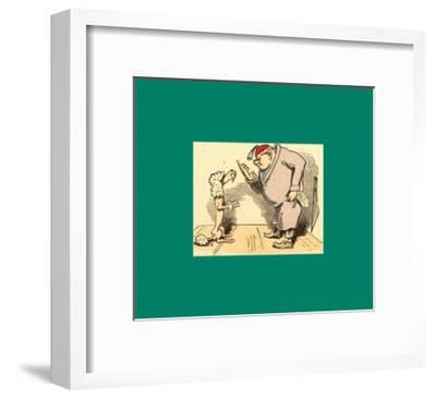 Schnaken and Schnurren-Wilhelm Busch-Framed Giclee Print