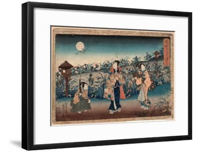 Jugo-Utagawa Toyokuni-Framed Giclee Print