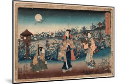 Jugo-Utagawa Toyokuni-Mounted Giclee Print