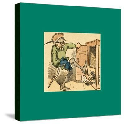 Schnaken and Schnurren-Wilhelm Busch-Stretched Canvas Print
