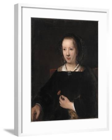 Young Woman with a Carnation, 1656-Willem Drost-Framed Giclee Print