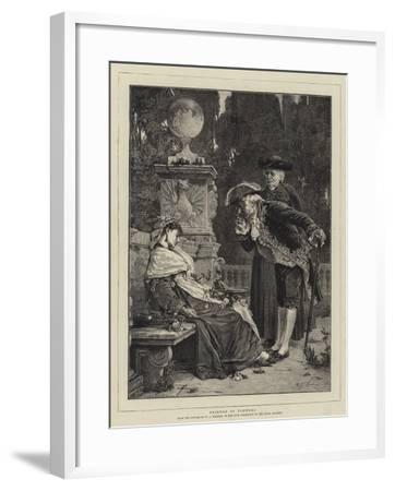 Friends of Flowers-Willem Johannes Martens-Framed Giclee Print