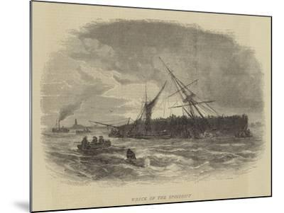 Wreck of the Spindrift-Walter William May-Mounted Giclee Print