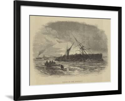 Wreck of the Spindrift-Walter William May-Framed Giclee Print