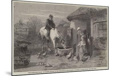 The Farmhouse Porch-Walter Goodall-Mounted Giclee Print