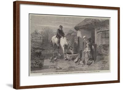 The Farmhouse Porch-Walter Goodall-Framed Giclee Print