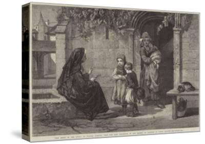 The Story of the Cross-Walter Goodall-Stretched Canvas Print