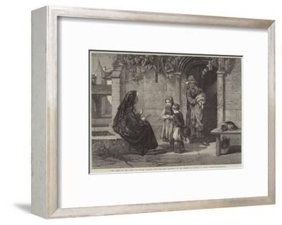 The Story of the Cross-Walter Goodall-Framed Giclee Print
