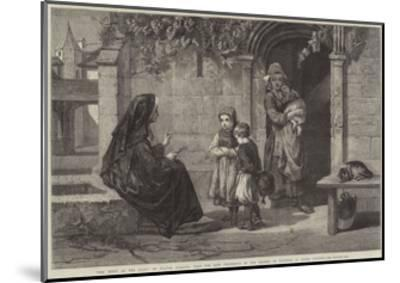 The Story of the Cross-Walter Goodall-Mounted Giclee Print