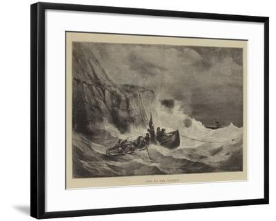 Off to the Rescue-Walter William May-Framed Giclee Print