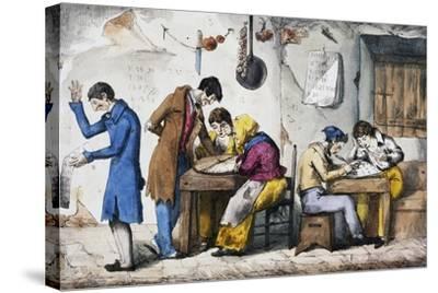 Kabbalists, 1832-Vincenzo Gaiatti-Stretched Canvas Print