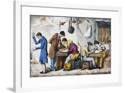 Kabbalists, 1832-Vincenzo Gaiatti-Framed Giclee Print