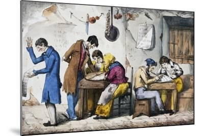 Kabbalists, 1832-Vincenzo Gaiatti-Mounted Giclee Print