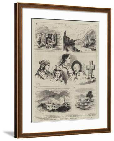 The Insurrection in the Herzegovina, Sketches at the Seat of War-Walter Jenks Morgan-Framed Giclee Print