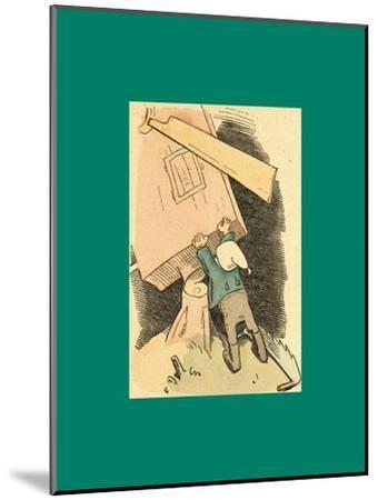 Schnaken and Schnurren-Wilhelm Busch-Mounted Giclee Print