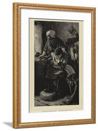 Men Must Work-Walter Langley-Framed Giclee Print