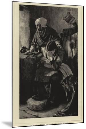 Men Must Work-Walter Langley-Mounted Giclee Print