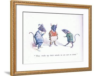 They Made Up their Minds to Set Out to Roam-Walton Corbould-Framed Giclee Print