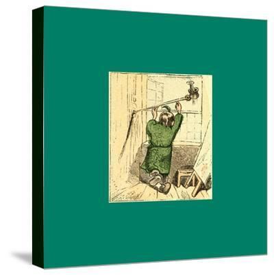 Schnaken and Schnurren-Wilhelm Busch-Stretched Canvas Print