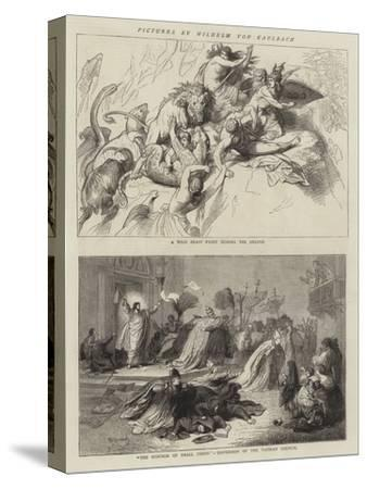 Pictures by Wilhelm Von Kaulbach-Wilhelm Von Kaulbach-Stretched Canvas Print