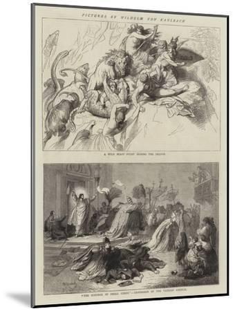 Pictures by Wilhelm Von Kaulbach-Wilhelm Von Kaulbach-Mounted Giclee Print