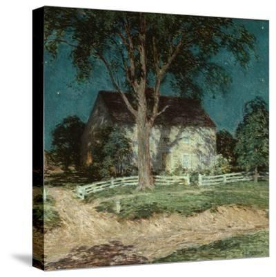 Old Homestead Connecticut, C.1914-Willard Leroy Metcalf-Stretched Canvas Print