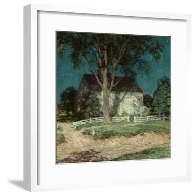 Old Homestead Connecticut, C.1914-Willard Leroy Metcalf-Framed Giclee Print