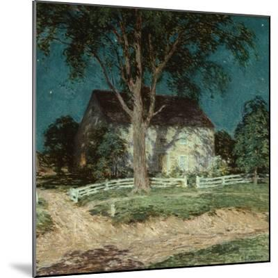 Old Homestead Connecticut, C.1914-Willard Leroy Metcalf-Mounted Giclee Print